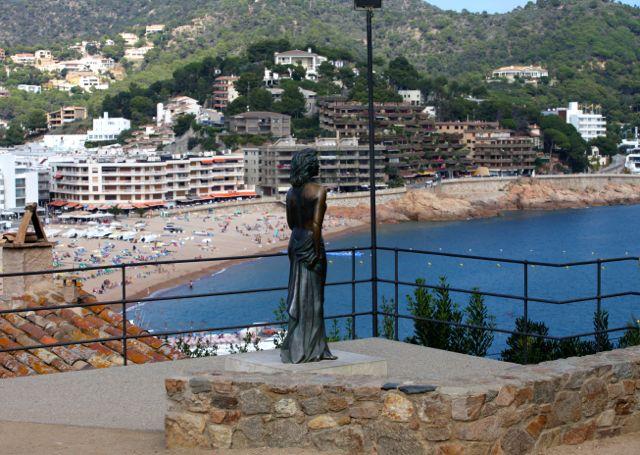 Escultura de Ava Gardner