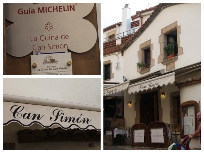 Ruazinha cheia de restaurantes, e o melhor, na Espanha não tem a chatisse do horário de amoço