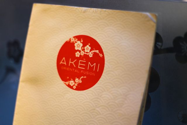 Akemi cardapio
