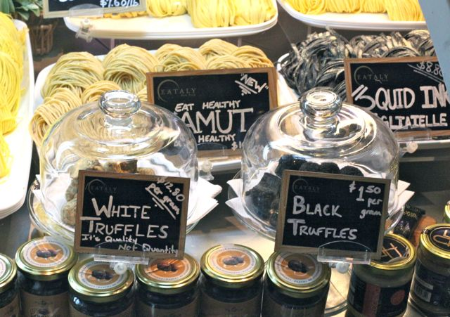 EATALY white brak truffles