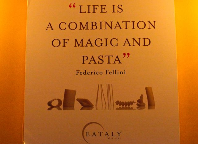 Eataly Life is a combinacion