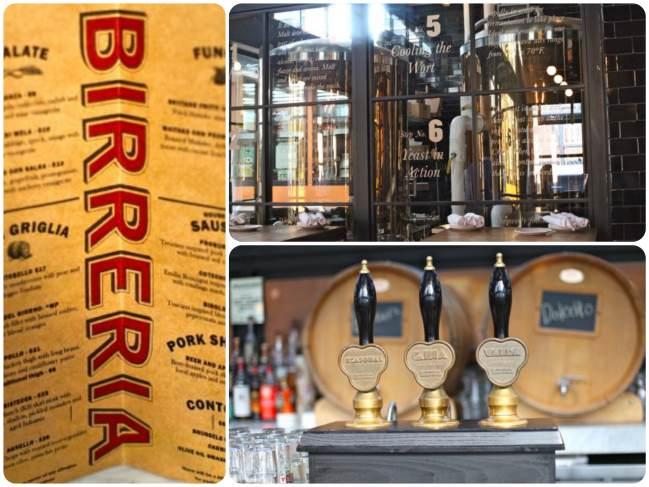 A cerveja é produzida no local