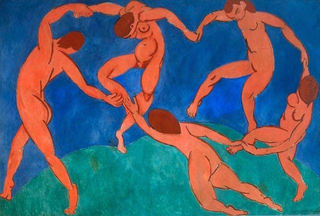 "Obra: ""La Danse"", de Henri Matisse. 1908.  Gentileza do Museu Hermitage, San Petersburgo, Russia."