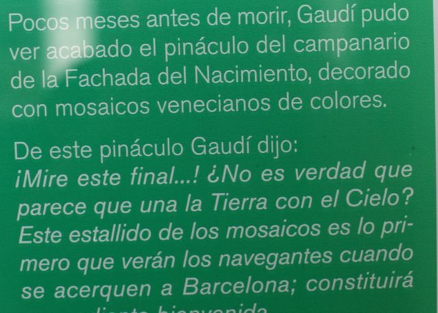 Gaudi texto