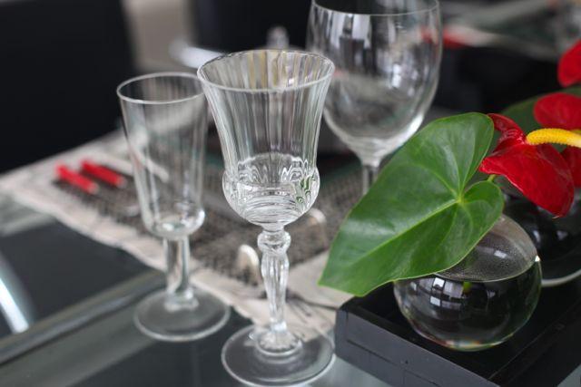 A mistura de copos também dá um ar de descontração