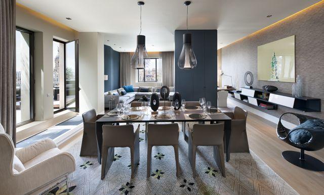 Mandarin Oriental - Penthouse living room