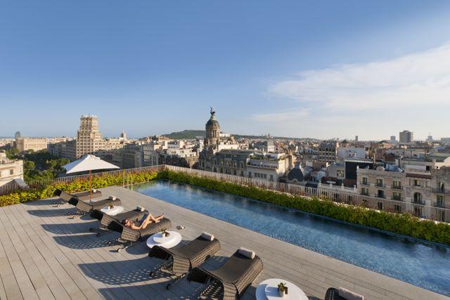 Mandarin Oriental - Terrat Rooftop Dipping Pool