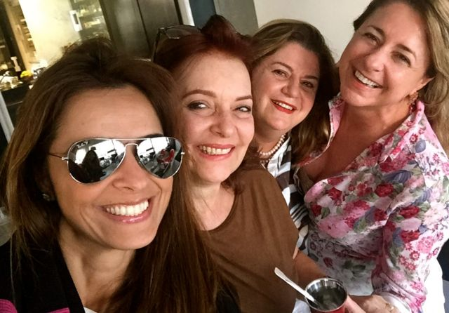 Ju, eu, Rosa e Dilu