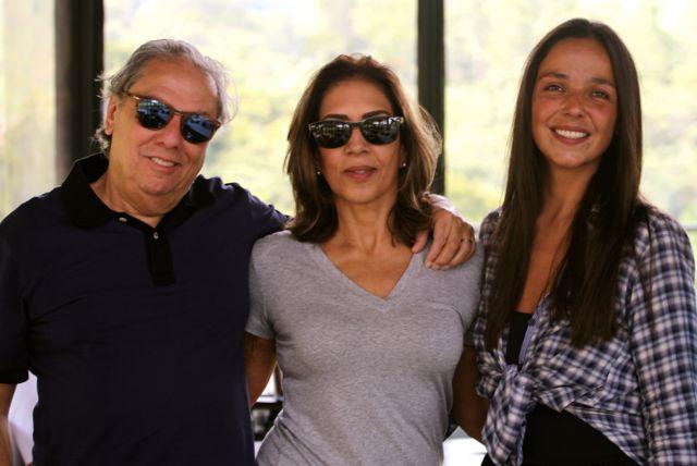 João Delpino, Angela Dourado e Fernanda Semler