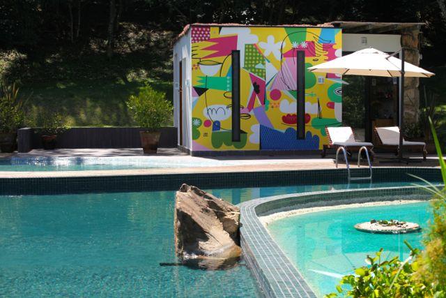 BOTANIQUE piscina