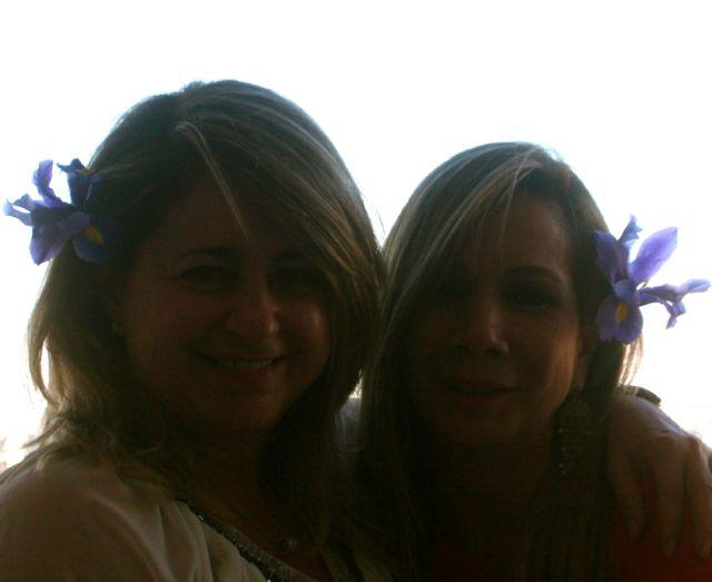 Maria Helena e eu flor