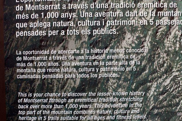 Montserrat trilha cartaz