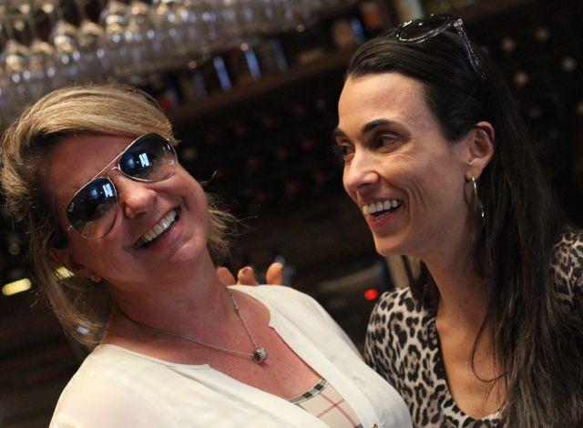 Eu e Alexandra Forbes, escritora da Folha de São Paulo