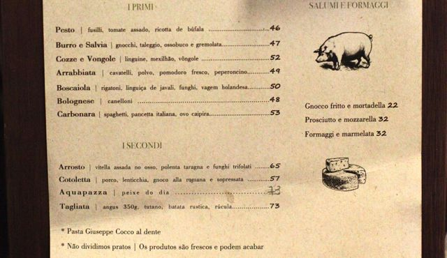 NINO menu 2