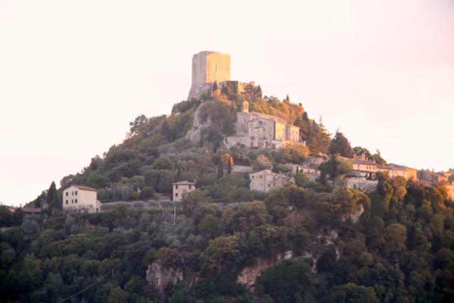 Bagno Vignoni castelo