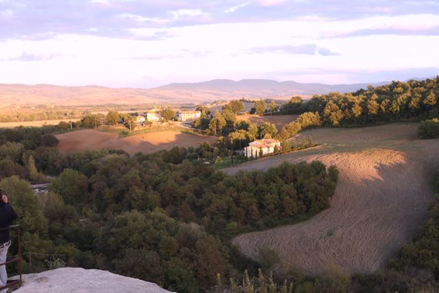 Bagno Vignoni paisagem