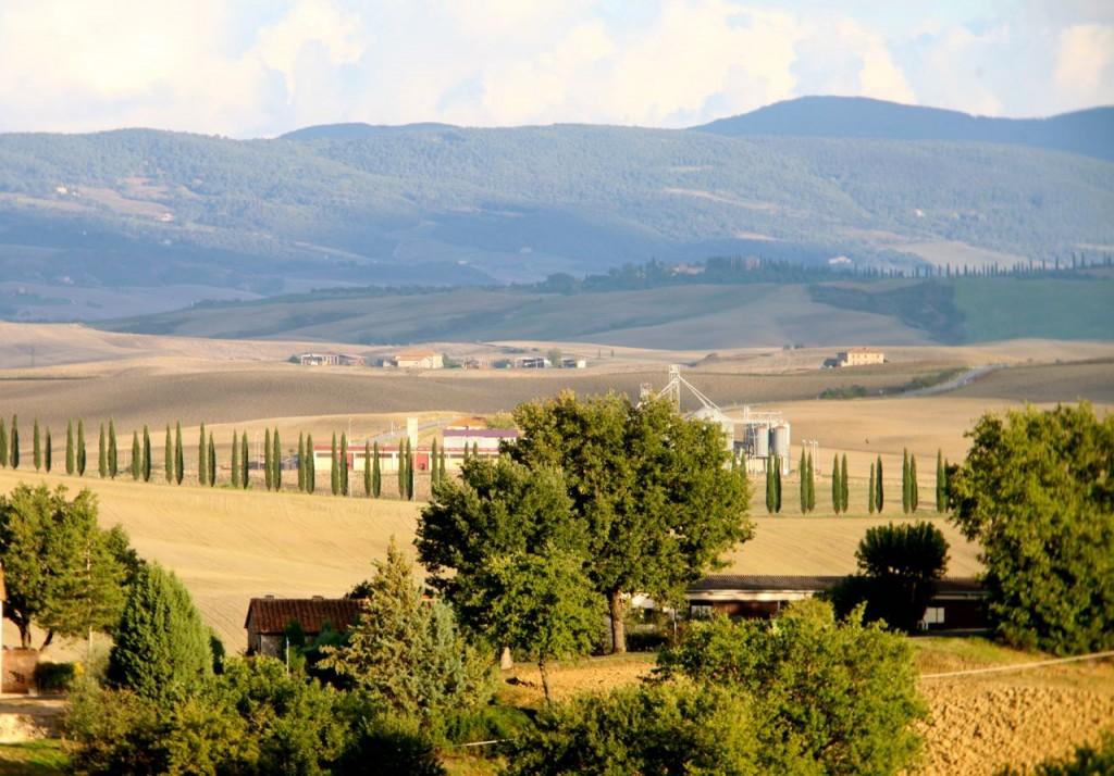 Estrada na Toscana