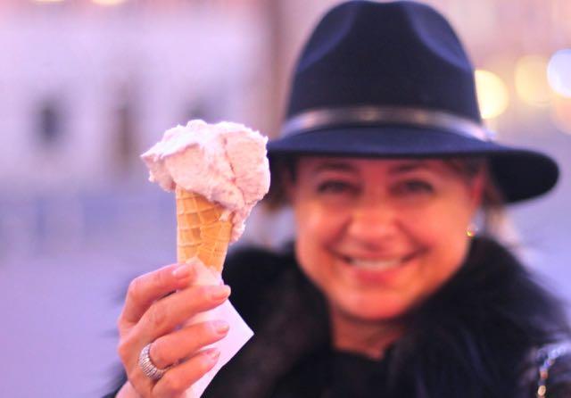 eu e sorvete