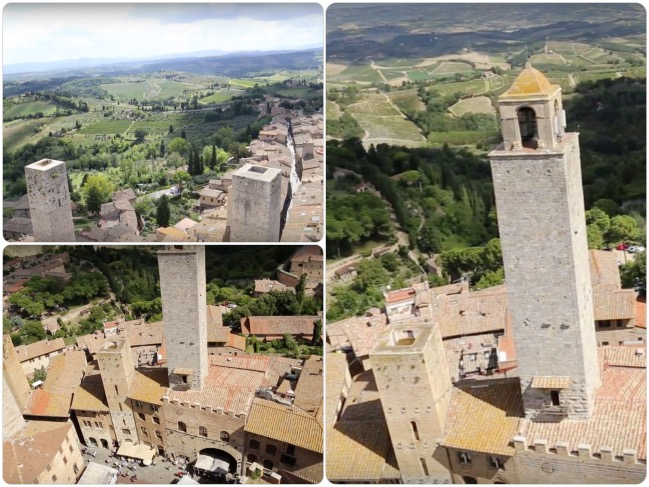 San Gimignano Torre Grossa_Fotor_Collage