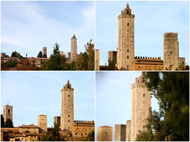 San Gimignano_Collage