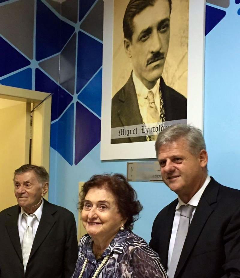 Meus tios Gil Bartolomeu, Gessy Bartolomeu e Gersinho