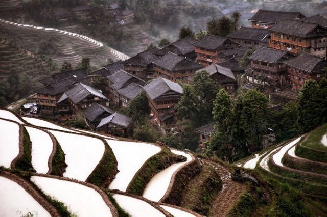 Mountain Village, China