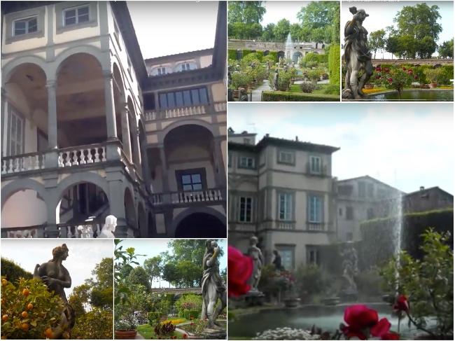 Jardin Palazzo Lucca