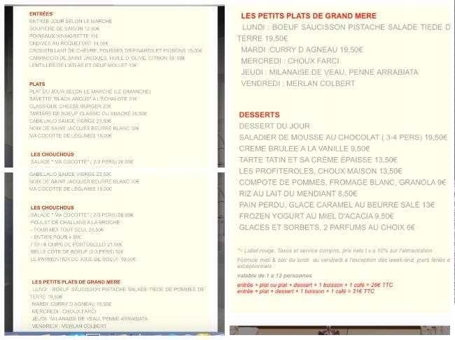 cocotte-menu