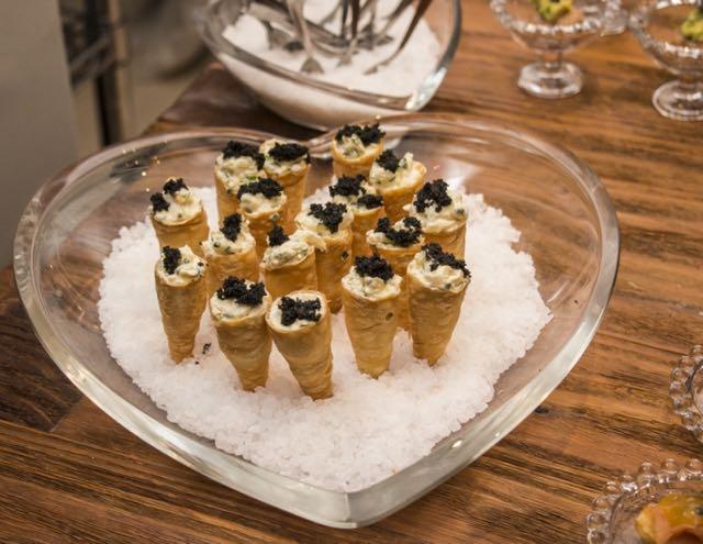 Cones de Caviar